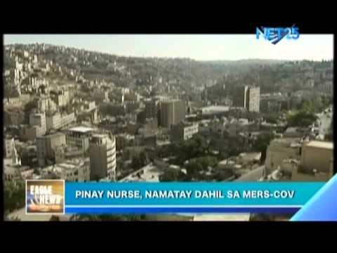 Filipina nurse died because of MERSCov