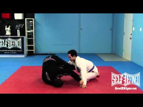 BJJ Triangle Choke: Jiu Jitsu Rubber Guard Submission Image 1