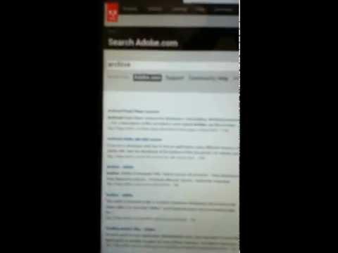 Installing Adobe Flash Player on Samsung Galaxy