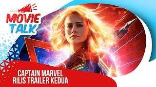 Marvel Cinematic Universe Rilis Trailer Kedua Captain Marvel