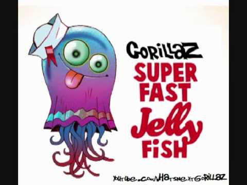 Gorillaz- superfast jellyfish (feat.Gruff Rhys and de La Soul)