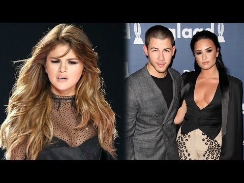 Selena Throws Shade At Demi Lovato & Nick Jonas During Meet & Greet?