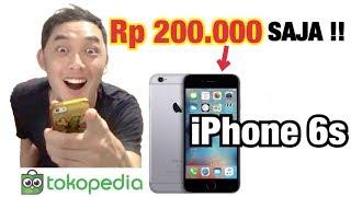 COBA BELI iPhone 6s Rp 200.000 SAJA DI Tokopedia !!