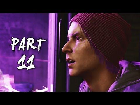 Infamous Second Son Gameplay Walkthrough Part 11 - Secret Agent (PS4)