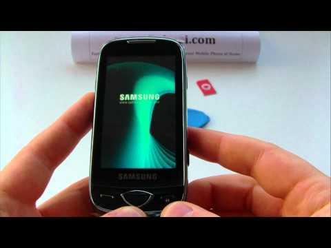 Samsung GT-S5560 Marvel Unlock & input / enter code.AVI
