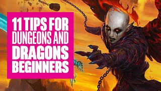 11 Dungeons and Dragons Beginner's Tips From Professional Players and Dungeon Masters