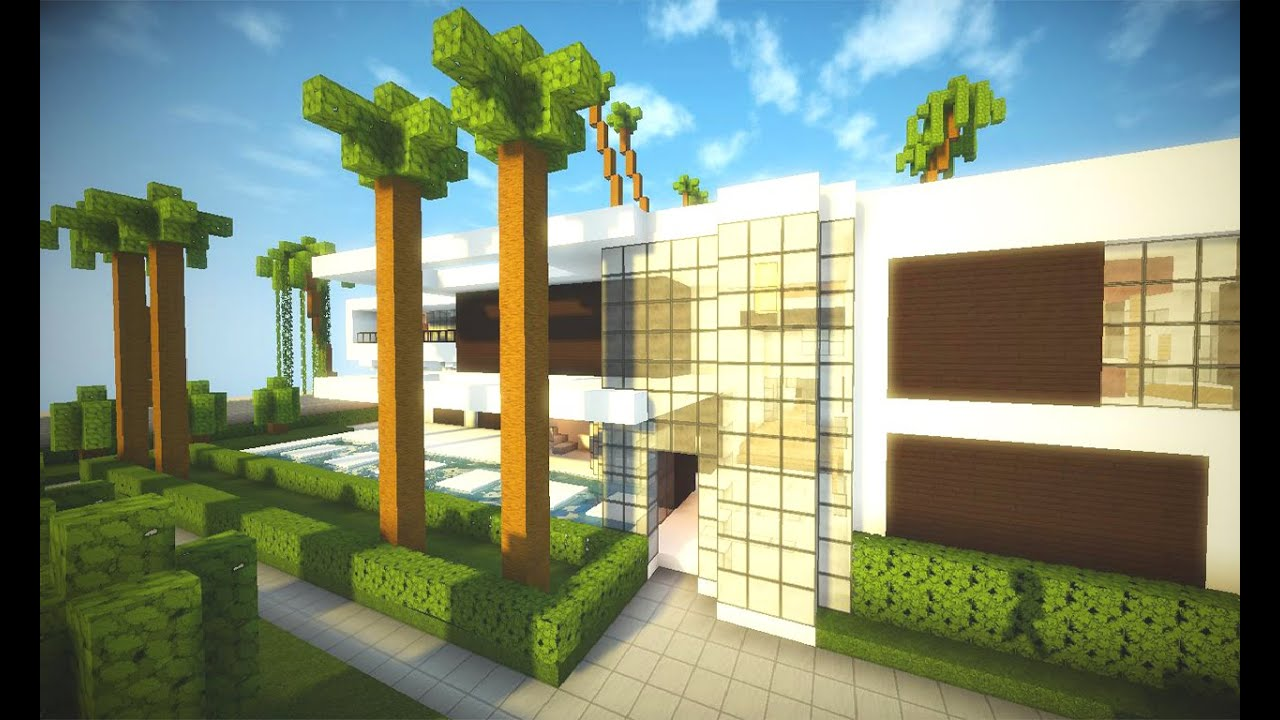 Minecraft mega casa moderna shaders mod pico download for Casa moderna 1 8