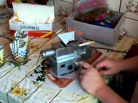 Elektryczna maszynka do papierosów domowej roboty