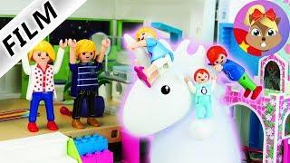 Phim Playmobil tiếng Đức |Kì lân khổng lồ trong nhà? Hannah thích quá đi mà!|Series phim thiếu nhi
