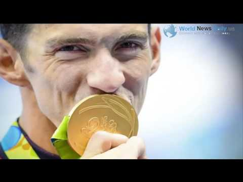 Michael Phelps - How much are Michael Phelps's gold medals really worth?   world news daily