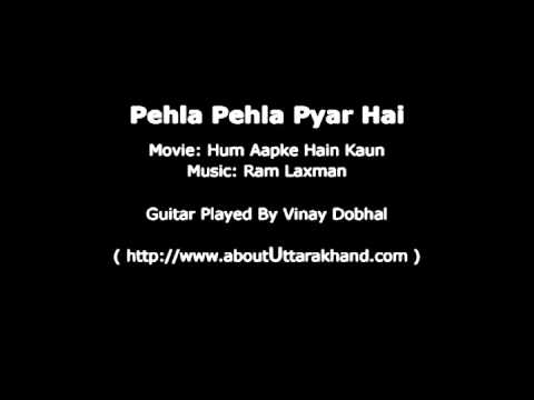 Pehla Pehla Pyar Hai - Guitar Instrumental By Vinay Dobhal video