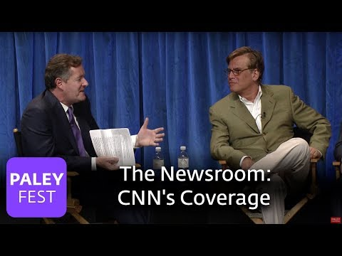 The Newsroom - Piers Morgan And Aaron Sorkin On CNN's Cruise Ship Coverage