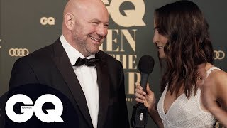 Dana White Talks Robert Whittaker And Kelvin Gastelum Ahead Of UFC 234 On GQ Red Carpet