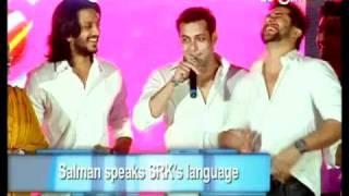 Salman speaks SRK's language