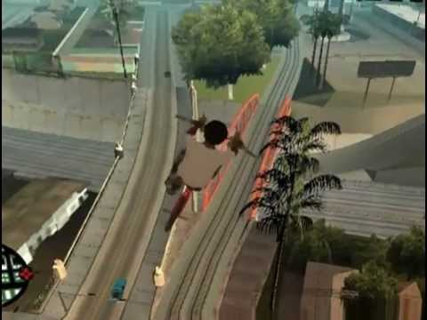 Akon - Keep Up ( Gta SanAndreas ) Official Gaming Video