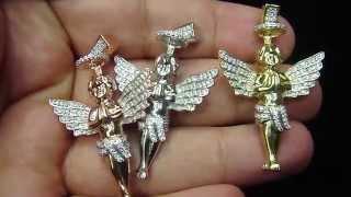 Custom Crown Angel Lab Diamond By Master of bling Item no : BP285