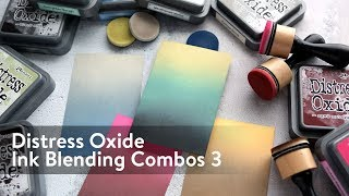 Distress Oxide Ink Blending Color Combinations 3