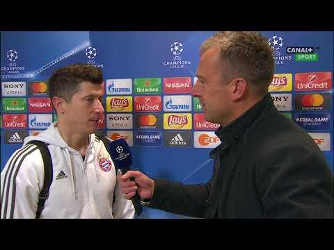 Wywiad Z Robertem Lewandowskim Po Meczu Bayern - Besiktas (5:0) || Piłka Nożna