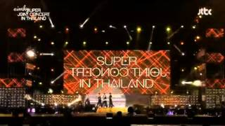 130413 Teen Top B1A4 EXO-M SNSD Opening SUPER JOINT CONCERT in TH
