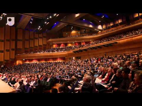 Celebration of success, an OU degree ceremony: Barbican 2012