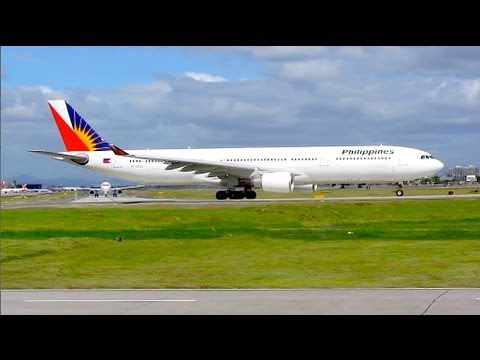 Plane spotting at NAIA (Ninoy Aquino International Airport) - Manila, Philippines