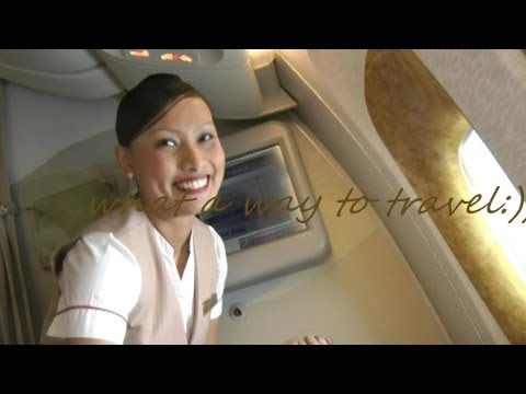Brand New Emirates in HD: New Concourse A, New Business Class Lounge, New Emirates Smiles