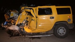 Hummer crashes | Аварии Хаммер