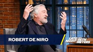 Robert De Niro Mean Tweets Himself Before Donald Trump Can