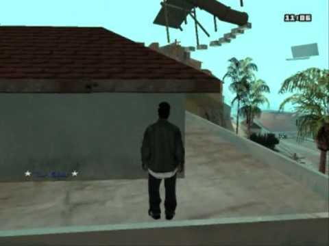 GTA SA Cleo Parkour Wall Run mod with download link