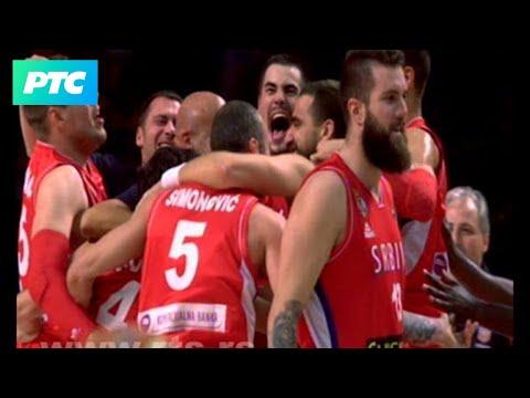 Srbija - Francuska, poslednji minut meča