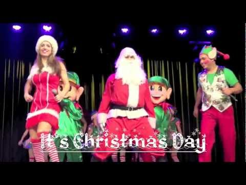 Christmas Gangnam Style  - Open Presents Time video