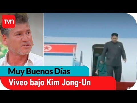 Chileno y su crudo relato de vivir en Corea del Norte | Muy buenos días