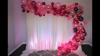 Balloon Garland DIY   How To