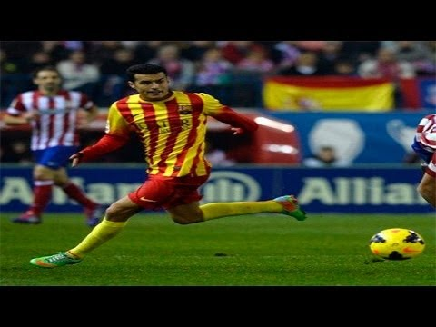 Pedro Rodriguez vs Atletico Madrid • Best moves HD 11/01/14
