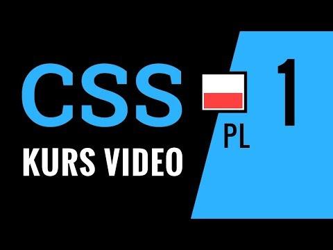 Kurs CSS odc.1: Kaskadowe arkusze stylów - pierwszy projekt, wiedza podstawowa