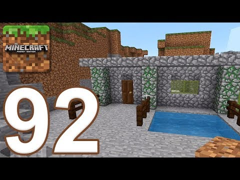Minecraft: Pocket Edition - Gameplay Walkthrough Part 92 - Survival (iOS, Android)