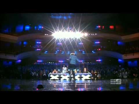 Tommy Franklin - Australia's Got Talent 2013 audition