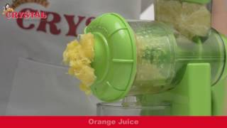 CRYSTAL Fruit Juicer