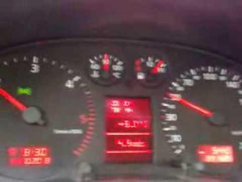 A4 B5 2.5 V6 Tdi acceleration
