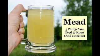 Making Mead with Wild Yeast