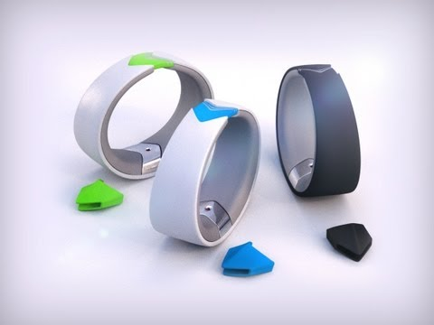 Amiigo - Fitness Bracelet for iPhone and Android