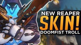 Overwatch: New Reaper Skin Coming! - DOOMFIST Troll - Hero Prototypes