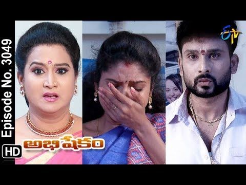 Abhishekam | 24th October 2018 | Full Episode No 3049 | ETV Telugu
