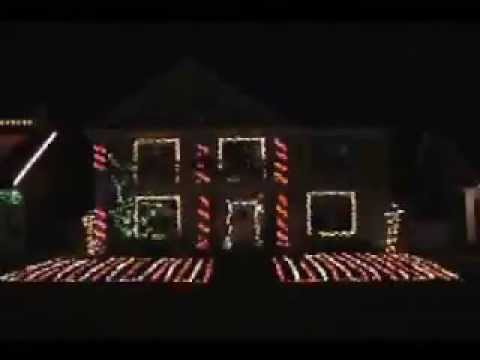 Christmas Lights Synchronized to TSO Nutcracker