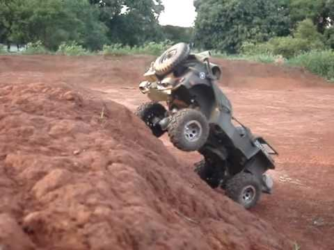 Jeep Willys mb 1/6 rc climbing,crawling,towing....