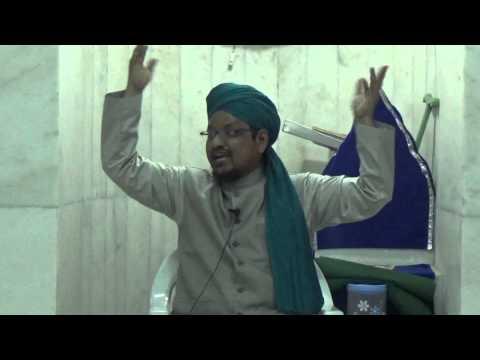Gustakh e Rasool Ki Pahchan complete bayaan  at masjid e zubaida by mufti naiyer azam ashrafi