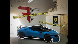 REBUILDING A WRECKED 2018 LAMBORGHINI HURACAN PERFORMANTE SPYDER FROM COPART!!! Part 5