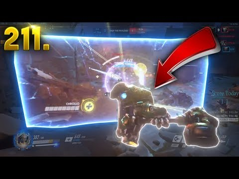 Crazy Broken Reinhardt Glitch.. | Overwatch Daily Moments Ep. 211 (Funny and Random Moments)