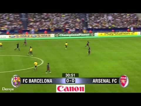 Victor Valdes vs Arsenal 2006