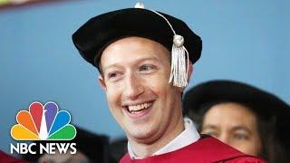 Mark Zuckerberg Speaks At 366th Harvard Commencement (Full)   NBC News